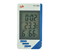 Temperature And Humidity Meter KT906 (Temperature/Tumidity/Time/Alarm Clock/Calendar/Hour)
