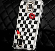 LUXURY Fully Jelly Diamonds Crystal Lip Back Cover Case for SAMSUNG Galaxy NOTE 4