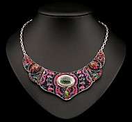 Women's Fashion Vintage Overstate Acrylic Diamond Necklace(More Colors)