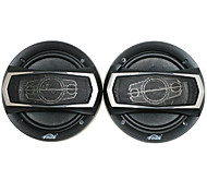Haut-parleurs de 400w 6 pouces avec les accessoires de montage, noir (la paire)