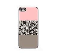 Leopard Print Pattern Design Aluminium Hard Case for iPhone 4/4S