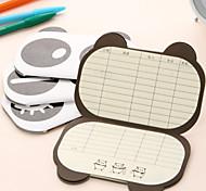 Lovely Panda Small Finance Notebook(Random Shipping)