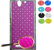 All Over The Sky Star Pattern Full Body Case  for for Sony Xperia C3 (Assorted Colors)