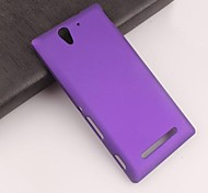 Pajiatu Hard Mobile Phone Back Cover Case Shell for Sony Xperia C3 (Assorted Colors)