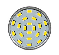GU10 7W 21 SMD 5730 450 LM Warm White MR16 Decorative LED Spotlight AC 220-240 V