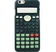 Calculator Pattern Hard Case for iPhone 6
