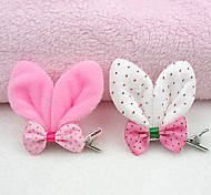 Fashionable Rabbit Ears Pattern Hair Accessories for Pets Dogs