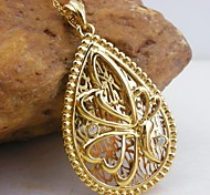 18K Golden Plated Butterfly Pendant Necklace