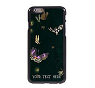 Personalized Phone Case - Butterfly Design Metal Case for iPhone 6