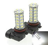 9006 20W 36X5730SMD 800-1200LM 6000-6500K White Light Led Bulb for Car Fog Lamp(A pair/AC12-16V)