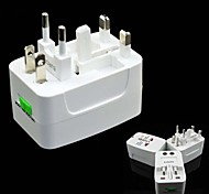 Travel Universal Global Converted Plug Adapter Socket Converter (US Regulation,EU Regulation,UK Regulation)