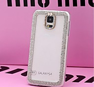 LUXURY Fully Jelly Diamonds Crystal Back Cover Case for SAMSUNG Galaxy S5 I9600