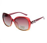 Gafas de Sol mujeres's Clásico / Retro/Vintage / Moda / Polarizada De Gran Tamaño Vino Gafas de Sol Completo llanta