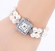 relógio padrão da moda diamante das mulheres elegantes personalizados