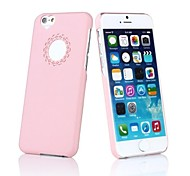Hollow Out Flower Heart PC Hard Case  for iPhone 6 (Assorted Colors)
