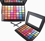 48 Color Matte&Shimmer Professional Eye Shadow Makeup Cosmetic Palette with Mirror&Applicator Set 2#