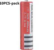 MICROCOSMOS 4800mAh 18650 Rechargeable Lithium Ion Battery(10pcs)