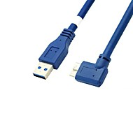 0,6 m 2 pies USB 3.0 macho a micro usb 3.0 cable macho