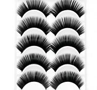 Wimpern Augenwimpern Augenwimpern Dick Voluminisierung / Natürlich / Dick Faser