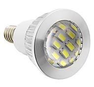 Faretti 16 SMD 5730 E14 4 W 280 LM 5500-6500 K Luce fredda AC 220-240 V