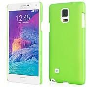 cassa opaca dura protettiva per Samsung Galaxy Note 4 (colori assortiti)