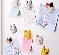 pacote único puramente manual geladeira de madeira dos desenhos animados ímã k3748