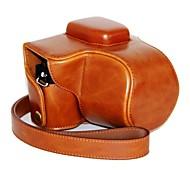 pajiatu® ретро пу кожа масло камеры кожи защитный футляр для Olympus OM-D е-M10 EM10 с 14-42мм объективом