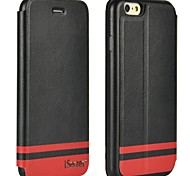 iSecret+® iSmart Series PU Leather Full Wrapped Flip Cover for iPhone 6 (Assorted Colors)