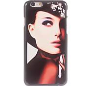 Elegant Woman Design Aluminium Hard Case for iPhone 6