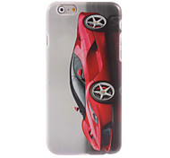 Red Car Design Hard Case for iPhone 6 Plus