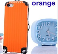 Luggage Design Silicone Soft Case for iPhone 5/5S(Assorted Colors)