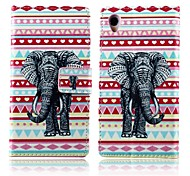 Elephants PU Leather Full Body Cover with Stand for Sony Xperia Z1 L39H