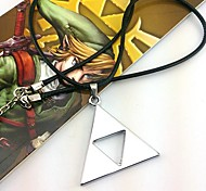Jewelry Inspired by The Legend of Zelda Cosplay Anime/ Video Games Cosplay Accessories Necklace Silver Alloy Male