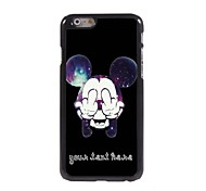 Personalized Phone Case - Cartoon Design Metal Case for iPhone 6