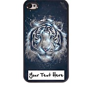 Personalized Phone Case - Leo Design Metal Case for iPhone 4/4S