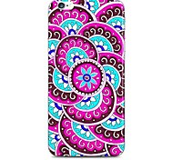 Rose Pink Sunflower Pattern Hard Case Cove for iPhone 6