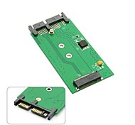 "Mini PCIE 2 Lane M.2 NGFF SSD to 1.8"" Micro SATA 7+9 16pin Adapter Cards PCBA for for E431 E531 X240S Y410P Y510P"