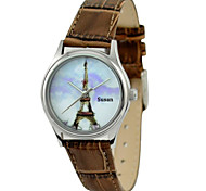 JUST2YOU™ Citizen Movement Women's The Eiffel Tower Watch in Steel Case