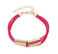 Fashion Leather Bracelet(Random Color)