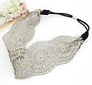 Korean Version of The Cloth Hollow Lace Hair Band