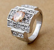 Fashion Rhinestone CZ Rings Random Color