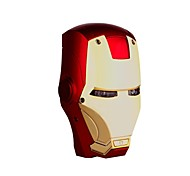 Marvel  6000mAh Avengers IRON MAN MarkIII Helmet USB Power Bank for iPhone Tablet iphone6/6plus/5S/4S/5 Samsung S4/5 HTC
