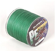 300M / 330 Yards PE Braided Line / Dyneema / Superline Fishing Line Green 25LB 0.23 mm ForSea Fishing / Fly Fishing / Bait Casting / Ice