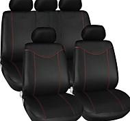 tirol cubierta de asiento de coche universal establecer nuevo negro 9 piezas fundas para asientos de sedanes crossover suv