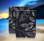 alta calidad funda de diseño de tableta hoja del viento de verano para ipad 2/3/4 (colores surtidos)