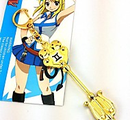 Fairy Tail Lucy Celestial Spirit Gate Gemini Golden Metal Key
