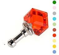 universelle Mode Anti-Staub-Stecker für Samsung Handys und anderen Handys (farbig sortiert)