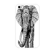 elefante padrão de volta caso para iPhone 4 / 4S