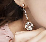 Ohrring Tropfen-Ohrringe Schmuck 2 Stück Aleación / Acryl Damen Schwarz / Weiß
