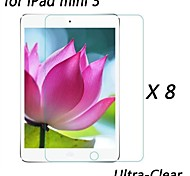 [8-Pack] Professional High Transparency LCD Crystal Ultra-Clear Screen Protector for iPad mini 3
